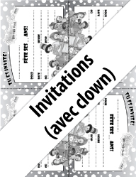 Invitations-avec-clown(noiretblanc)